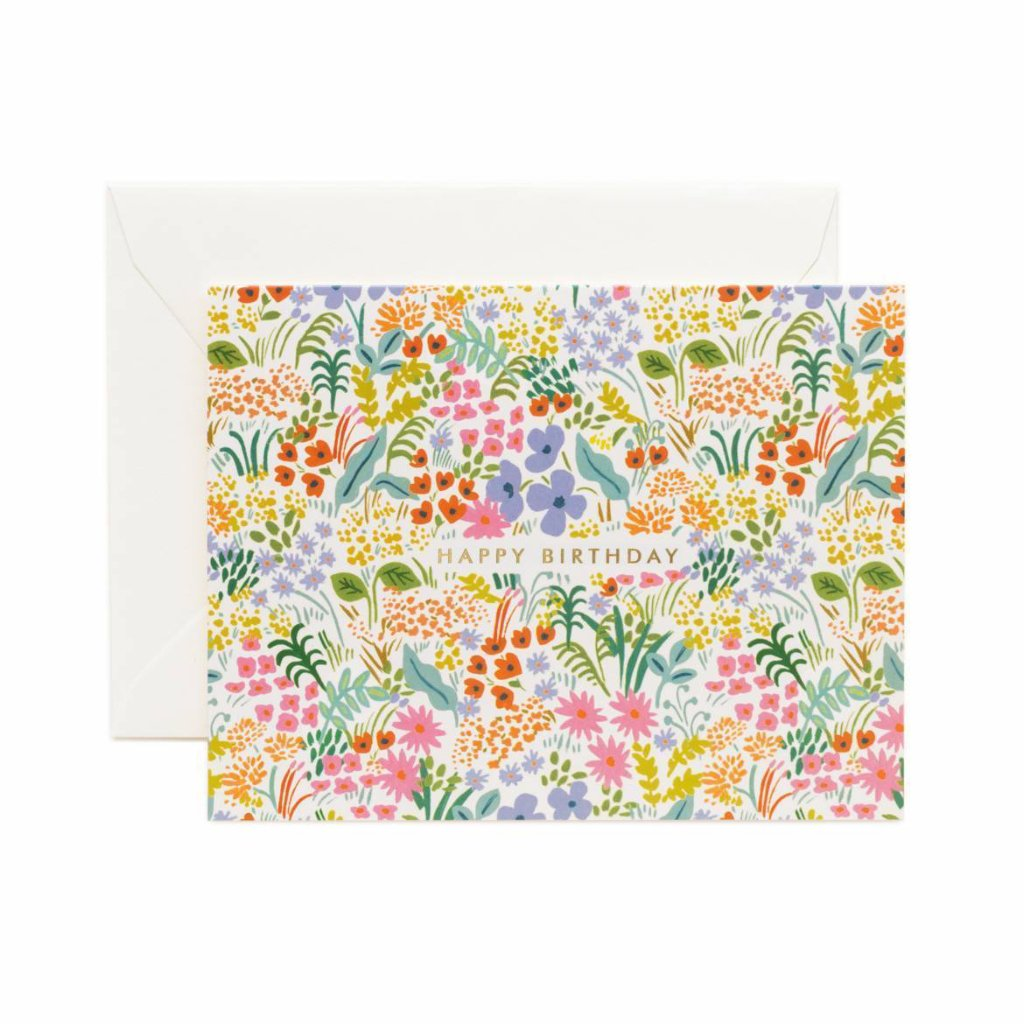 Prairie Birthday - Greetings Card by Rifle Paper Co