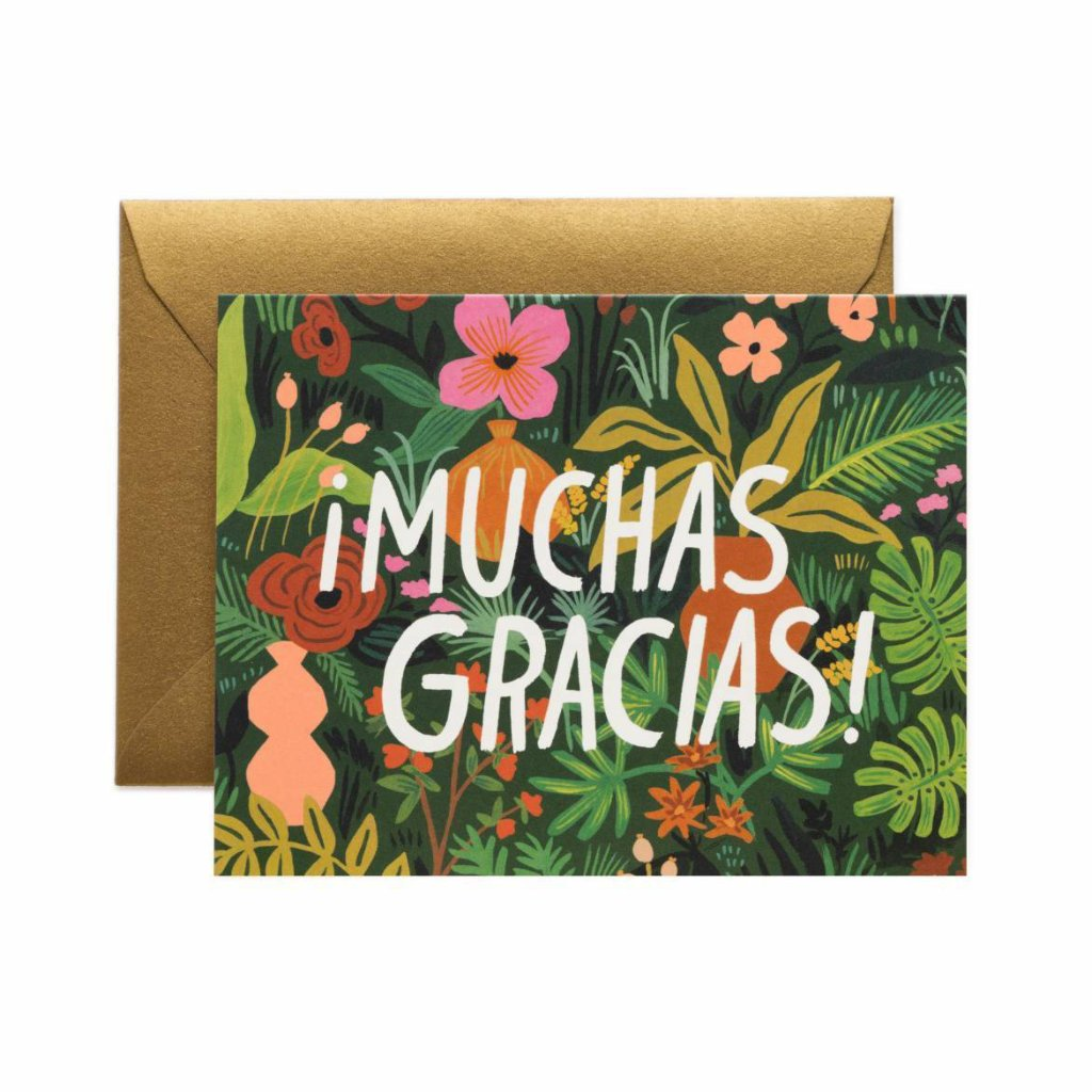 ¡Muchas Gracias! - Thank You Card by Rifle Paper Co