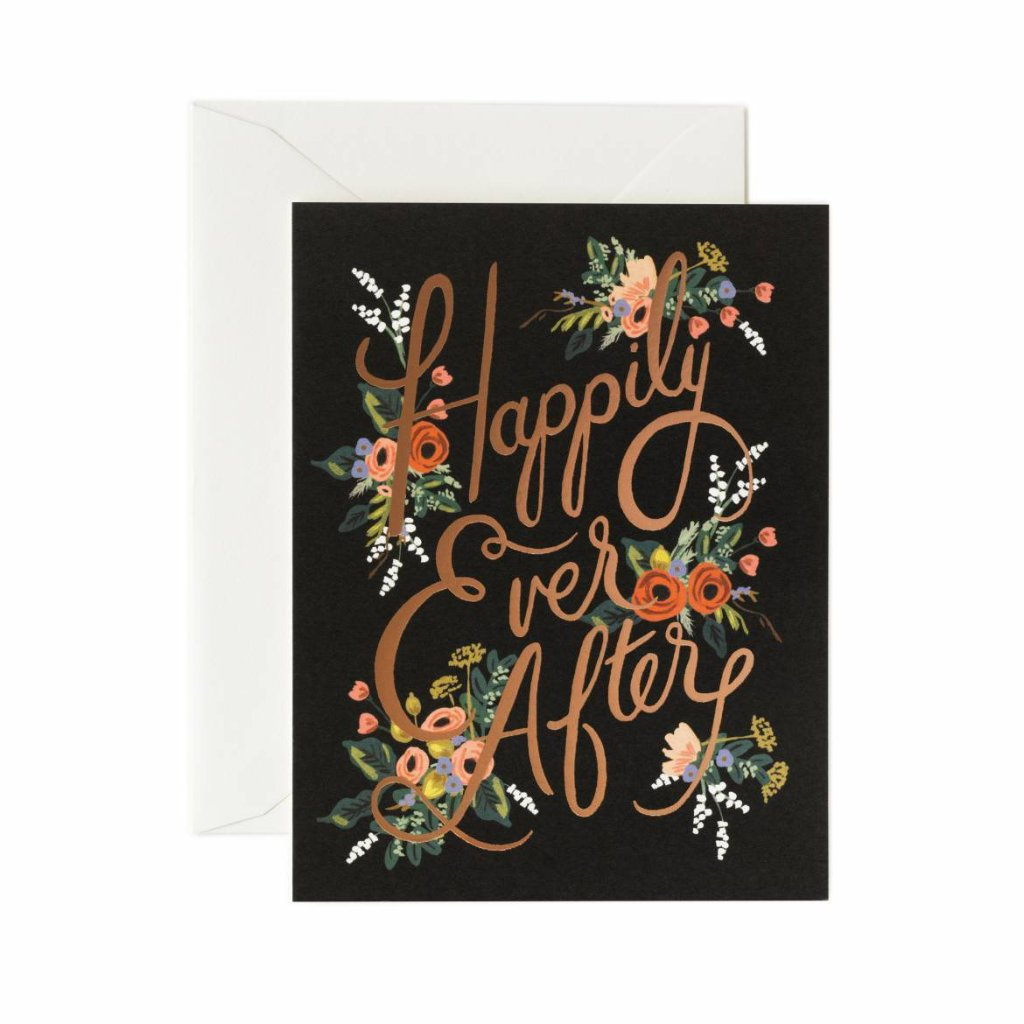 Eternal Happily Ever After - Greetings Card by Rifle Paper Co