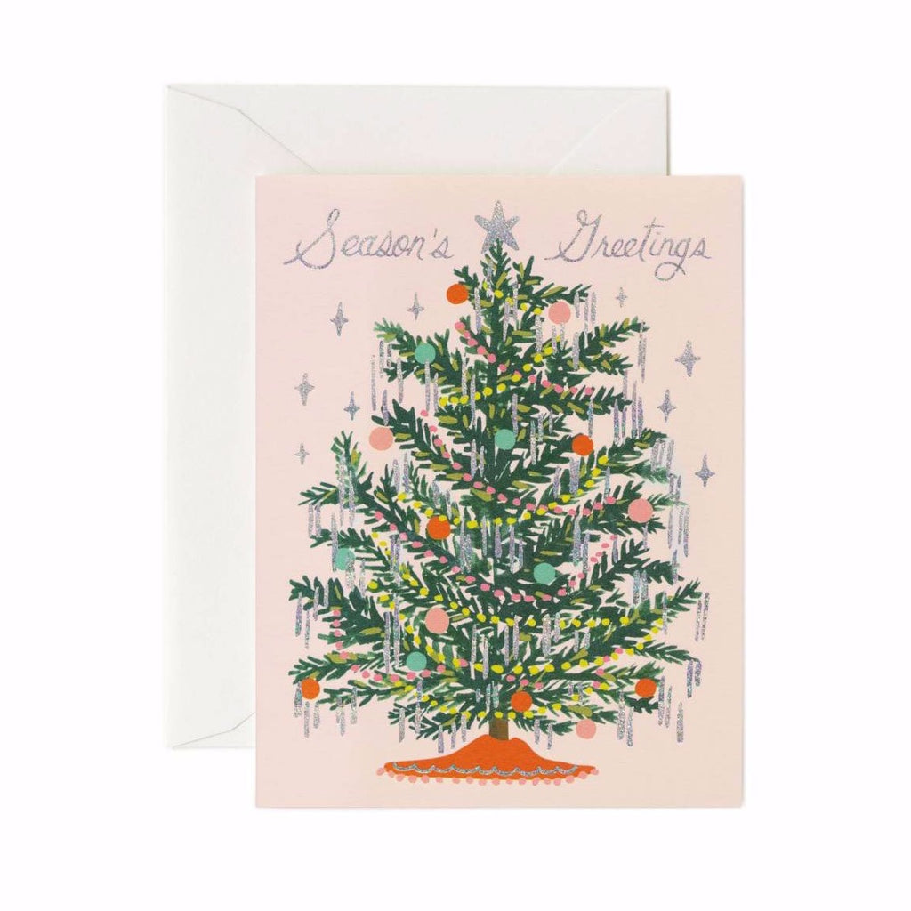 Tinsel Tree - Christmas Greetings Card by Rifle Paper Co
