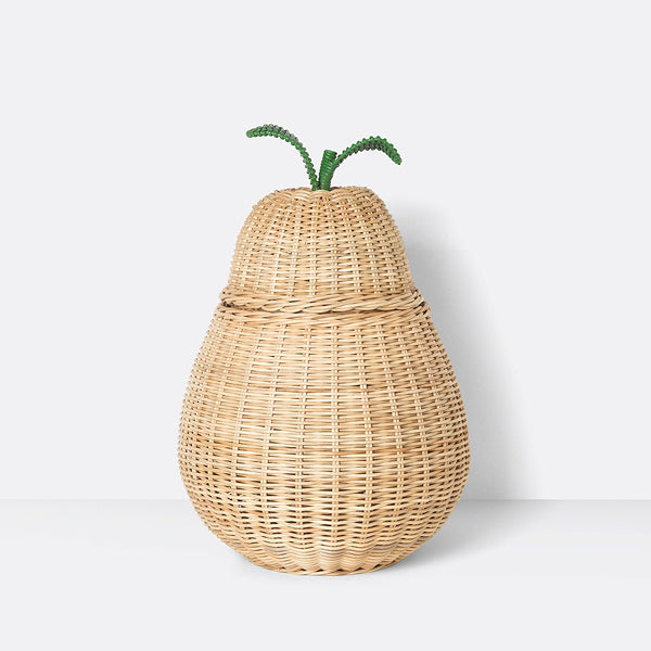 Braided Pear Storage Basket
