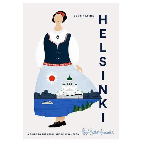 ** Travel Guide Map - Destination Helsinki