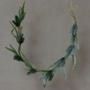 Frosted Fir Garland -142cm