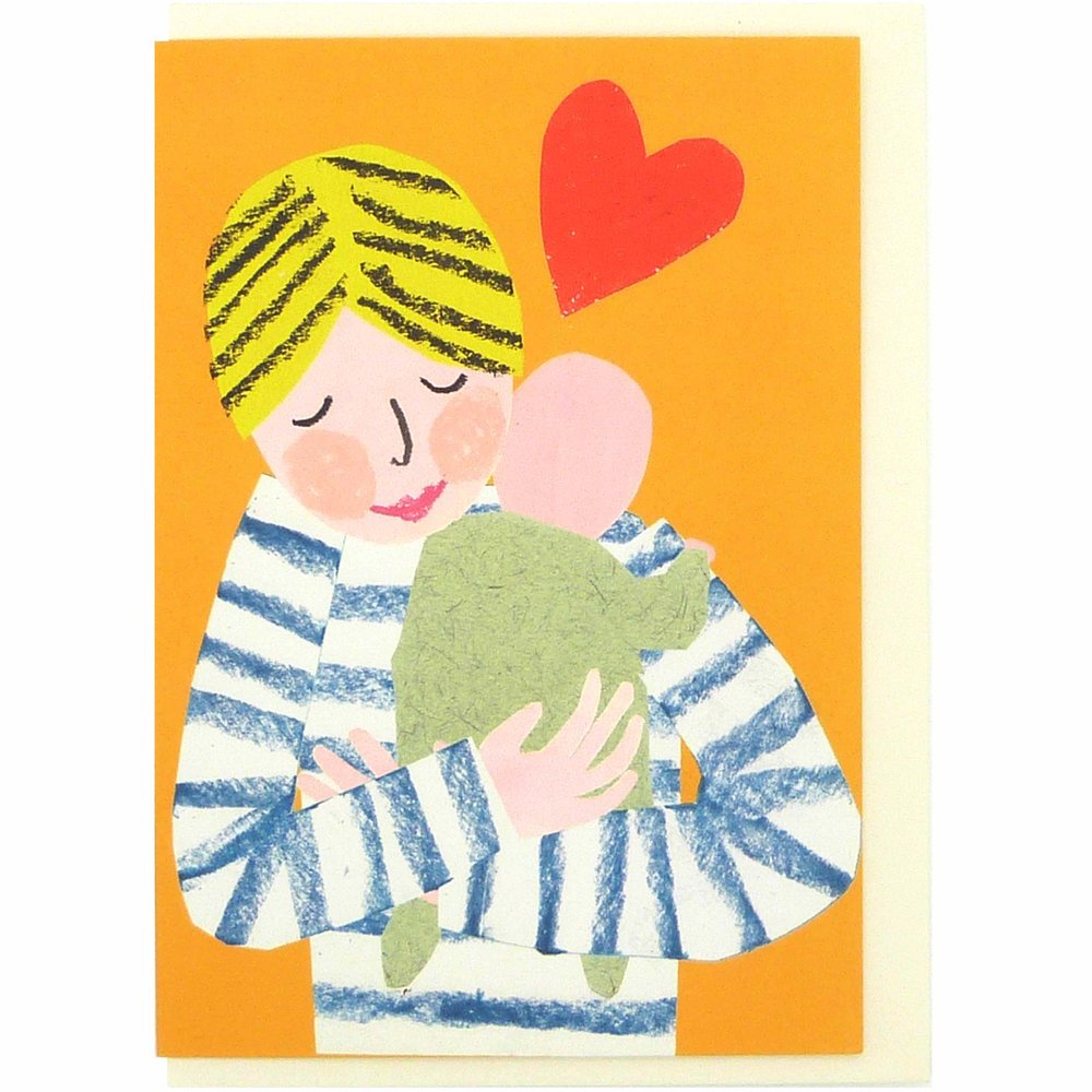 New Baby Mum Hug Card