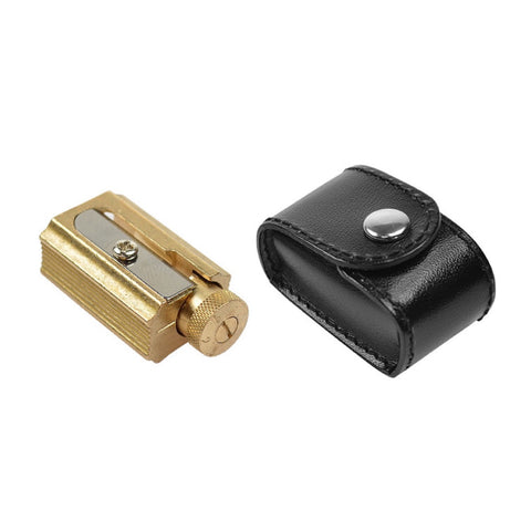 Adjustable Brass Pencil Sharpener