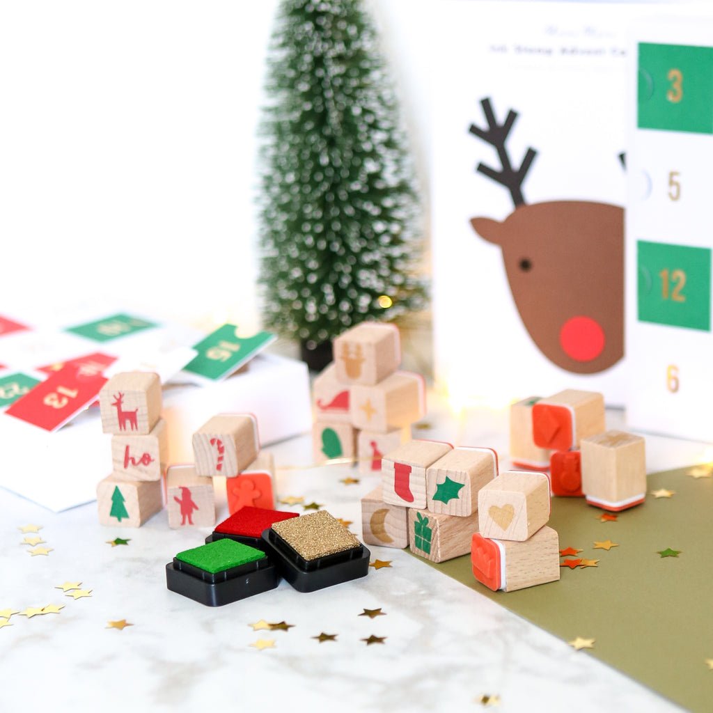 Rubber Stamp Advent Calendar