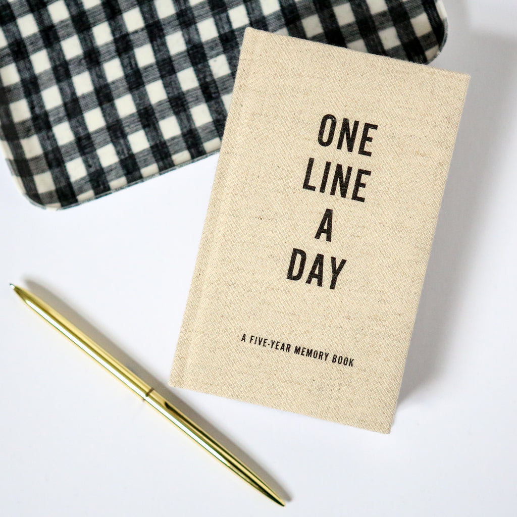 Canvas One Line A Day Five Year Diary