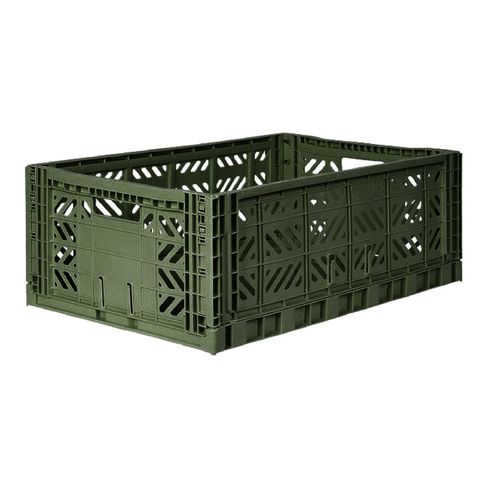 Large Folding Storage Box - Khaki