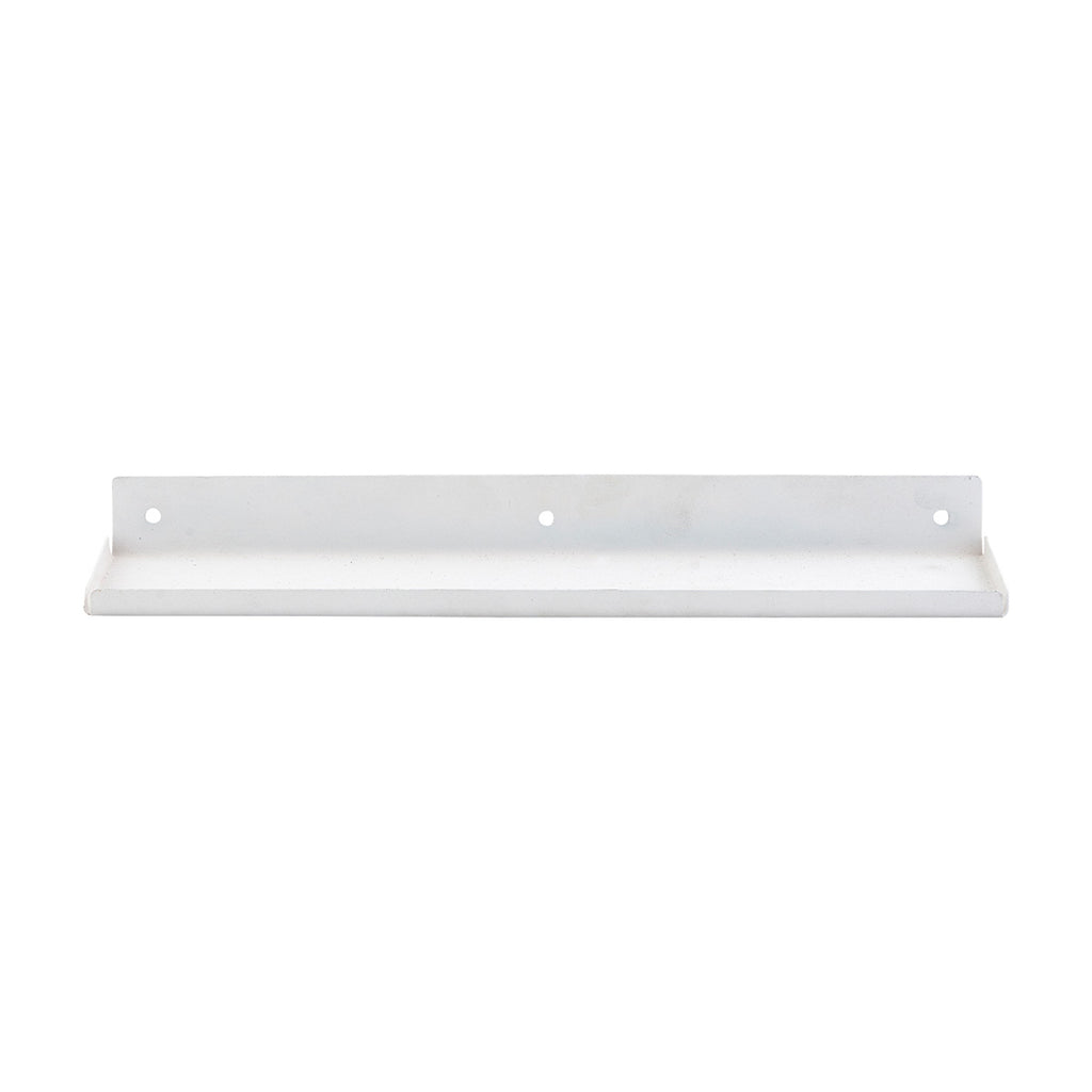 Ledge Shelf - White Finish