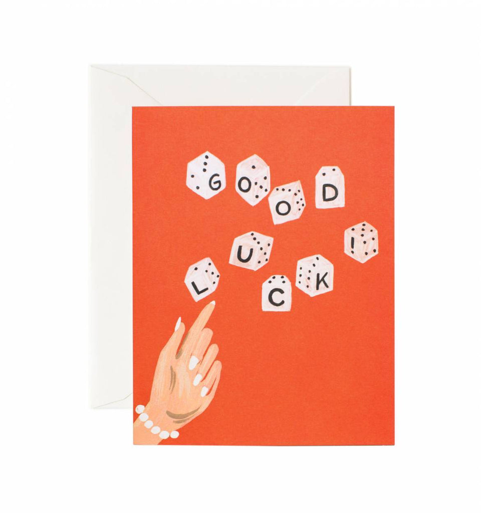 Lucky Dice - Greetings Card by Rifle Paper Co