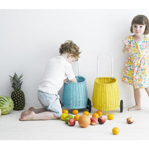 Olli Ella Little Luggy Basket - Yellow