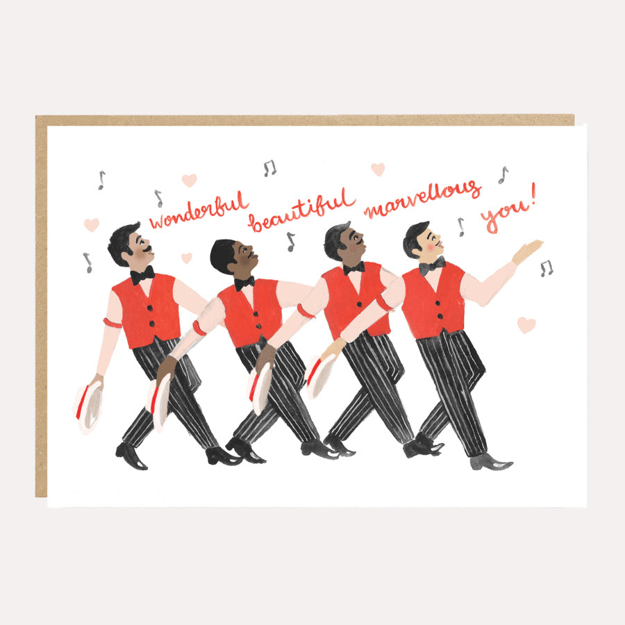 'Wonderful Beautiful Marvellous You' Greetings Card