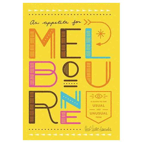 ** Travel Guide Map - An Appetite for Melbourne