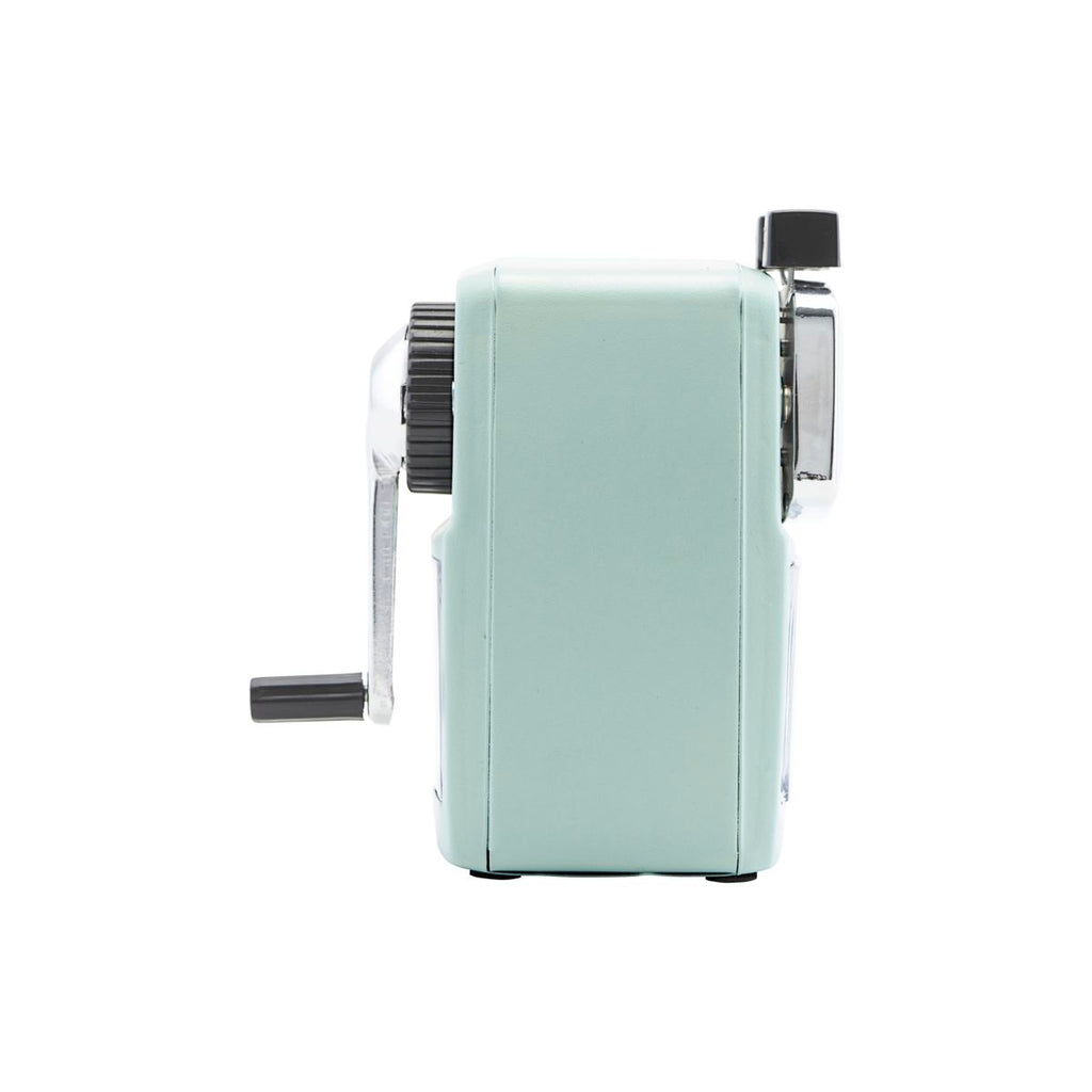 Classic Desktop Crank Pencil Sharpener - Mint Grey