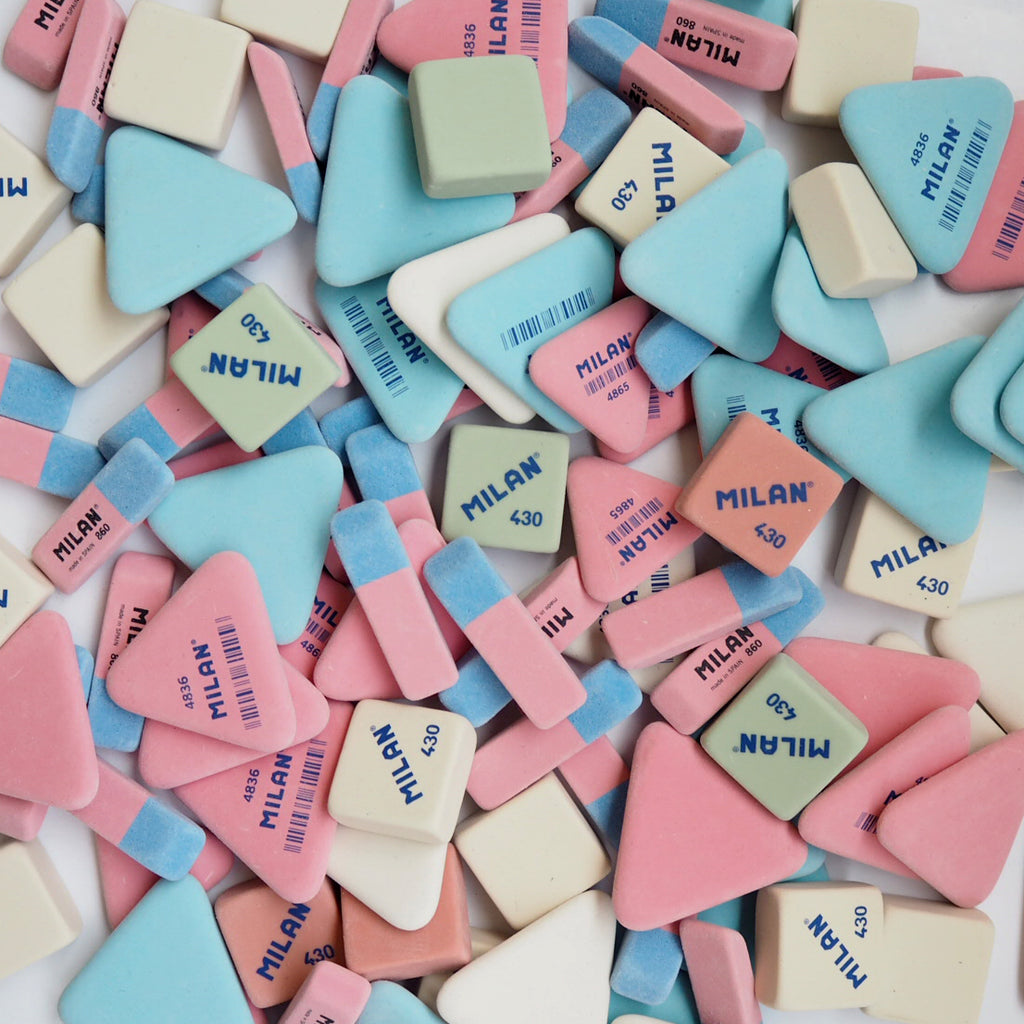 Mixture of Milan Erasers