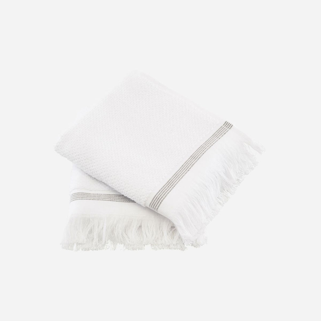 Pair of Organic Cotton Hand Towels