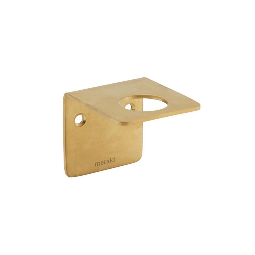 Bracket for Meraki Pump Bottles - Brass