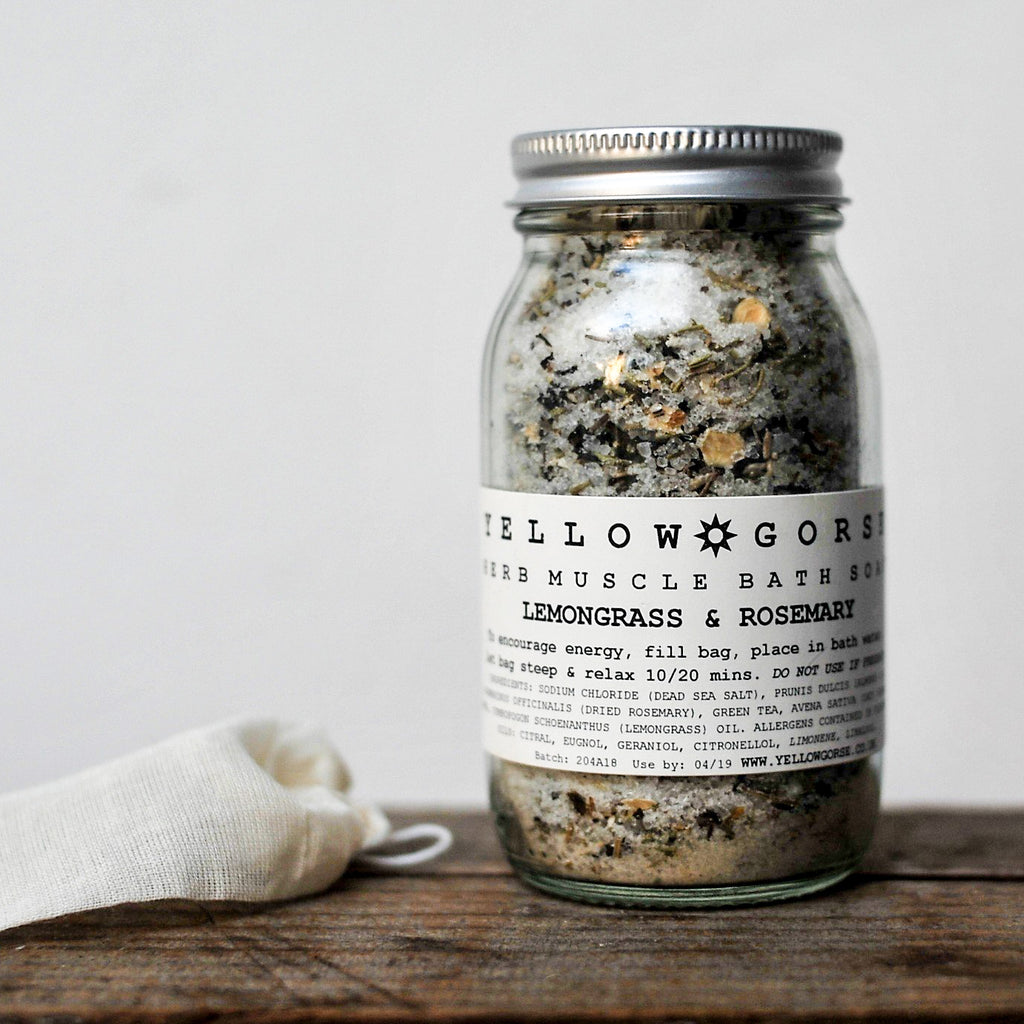 Energising Muscle Relief Bath Soak