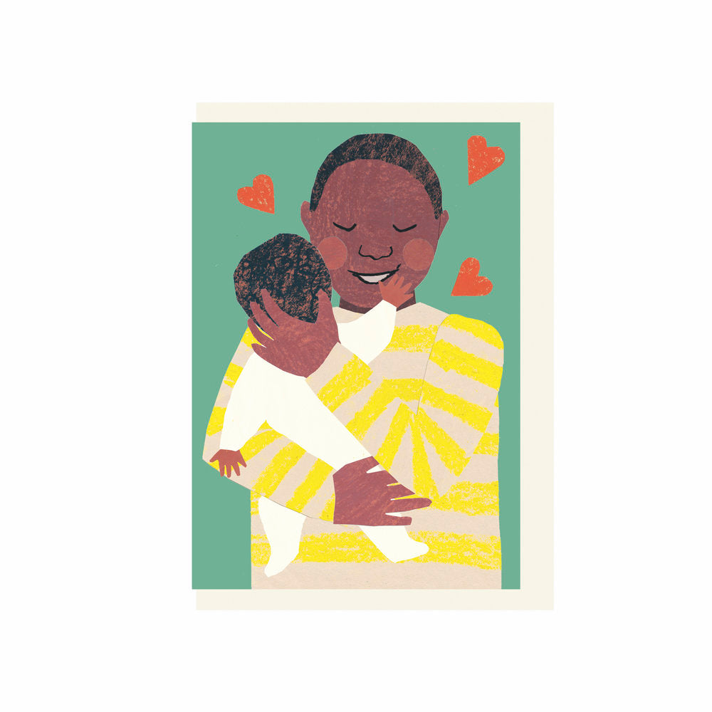 New Baby Dad Hug Card