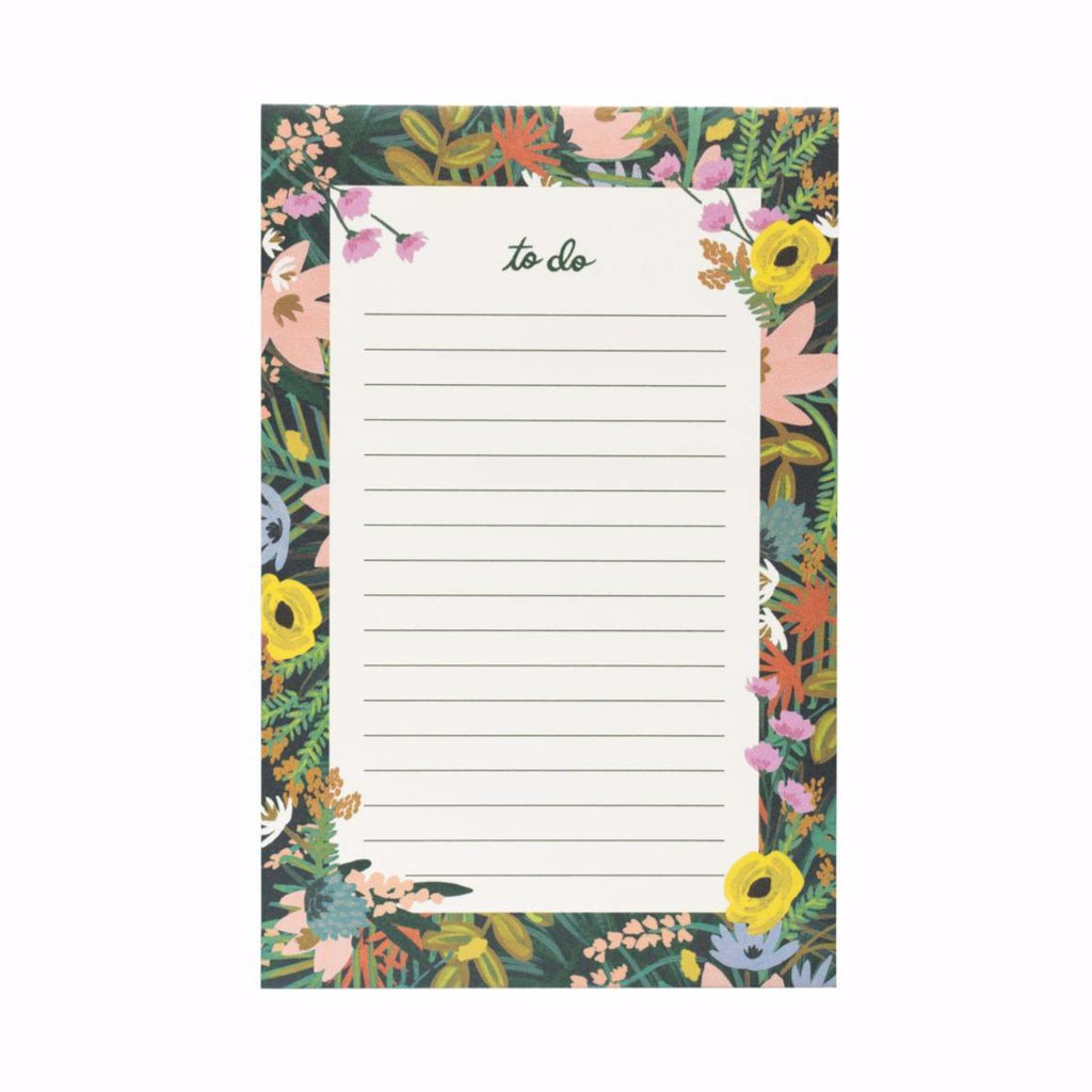 Havana Floral 'To Do' Notepad
