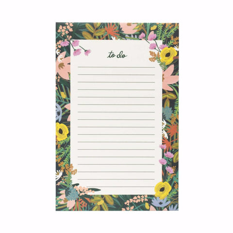 'To Do' Havana Floral Notepad