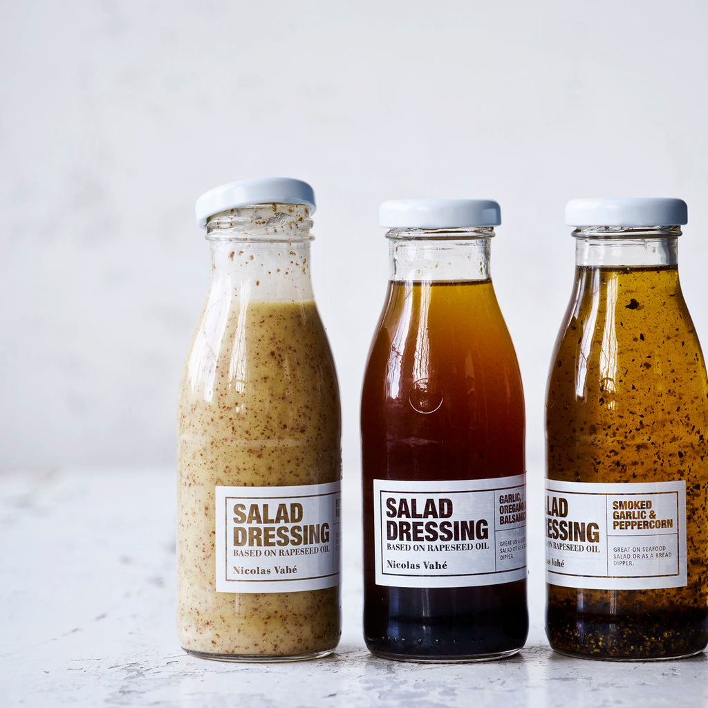 Salad Dressing with Honey and Mustard
