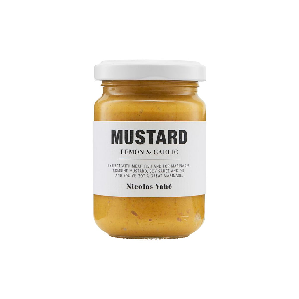 Mustard with Garlic and Lemon