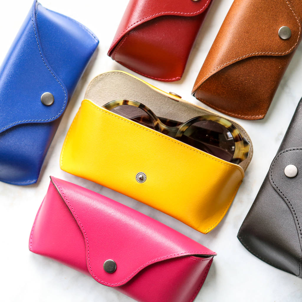 Leather Glasses or Sunglasses Case