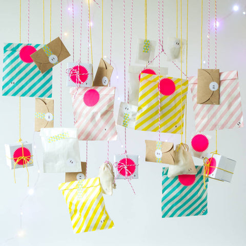 Colour Pop Modern Craft Advent Calendar Kit