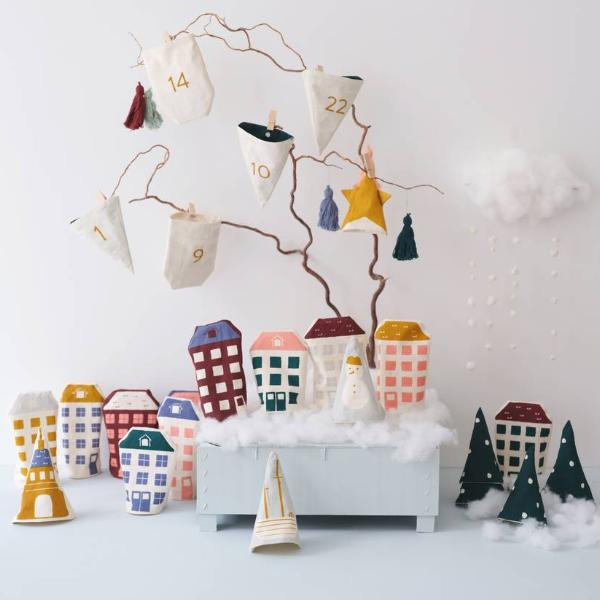 Scandi Christmas Play Town Advent Calendar