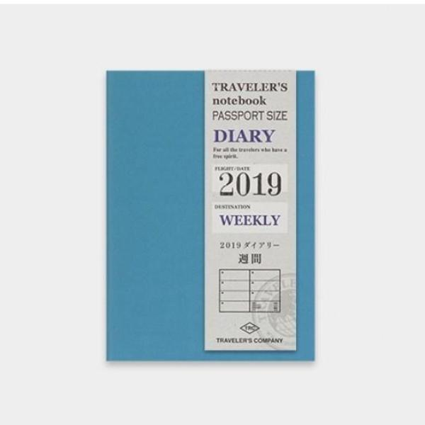 Traveler's Notebook Passport 2019 Weekly Diary