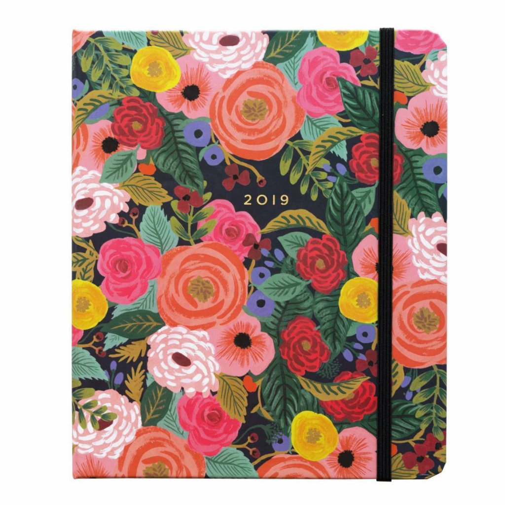 Juliet Rose Covered Planner 2019
