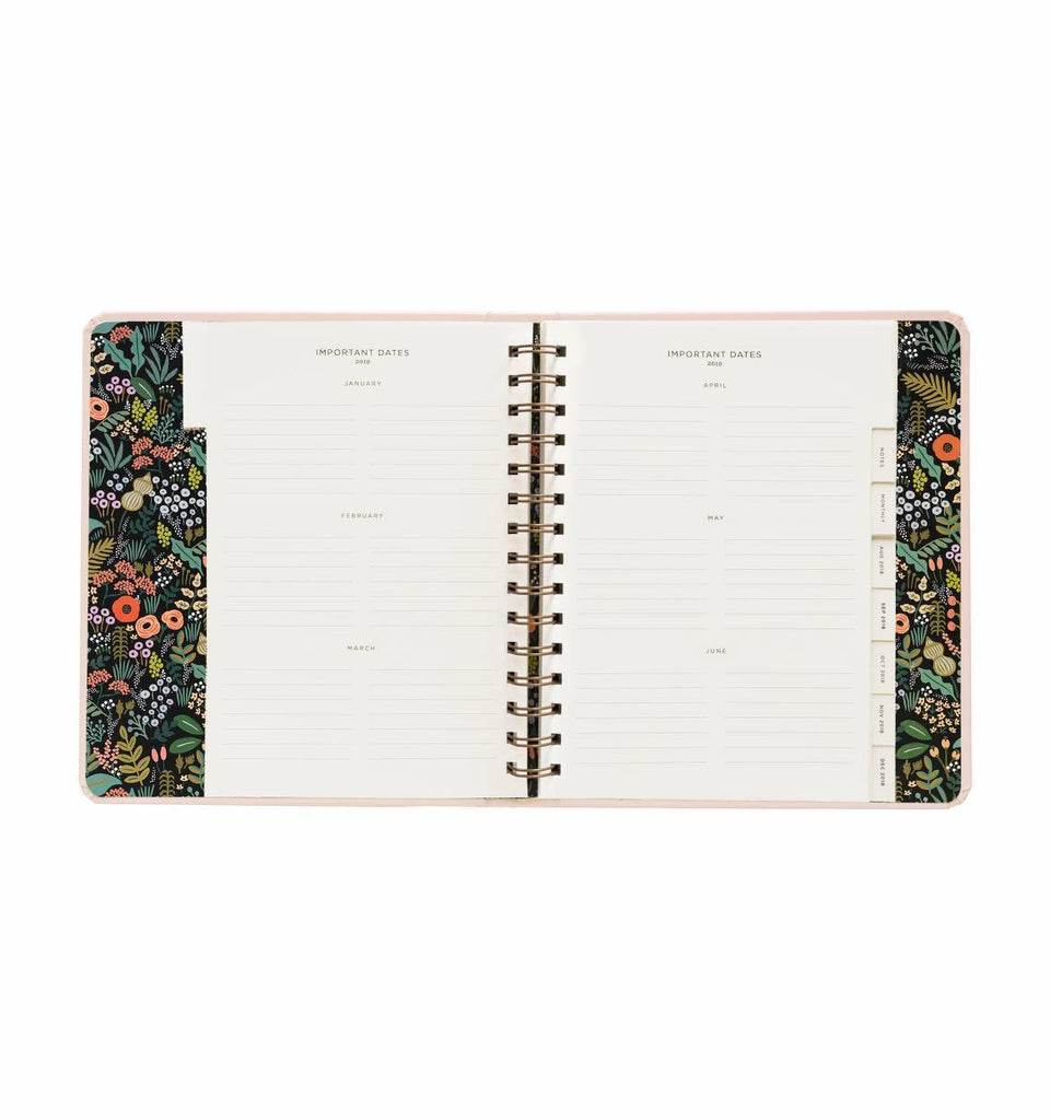 Bouquet Covered Planner 2019