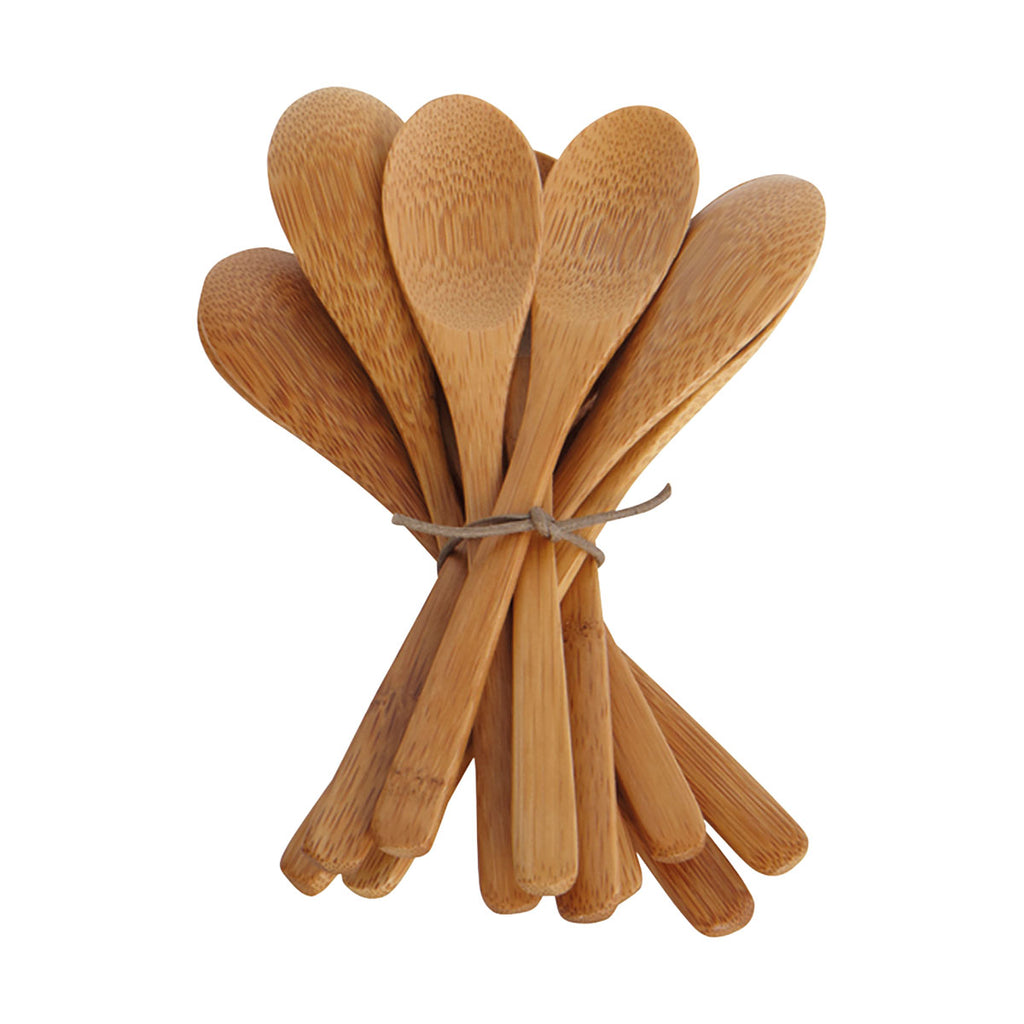 Six Bamboo Spoons - Medium