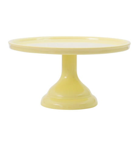 Small Yellow Melamine Cake Stand