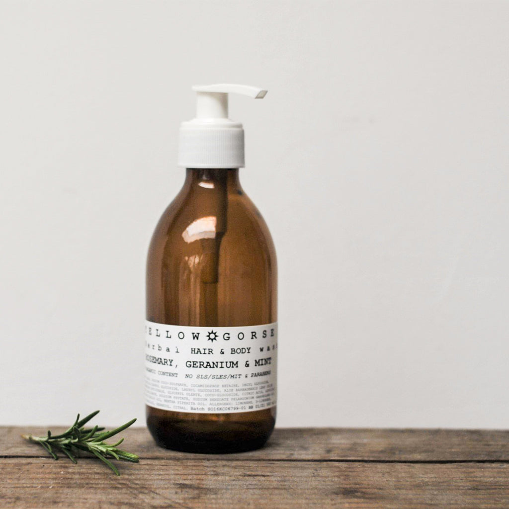 Rosemary, Geranium & Mint Hair & Body Wash
