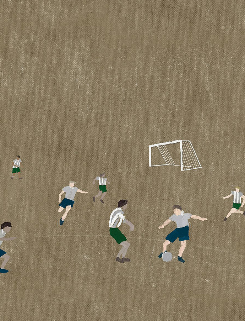 'Football' Print by Elisabeth Dunker 50 x 70cm