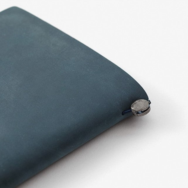 Midori Traveler's Notebook Leather Starter Kit - Blue