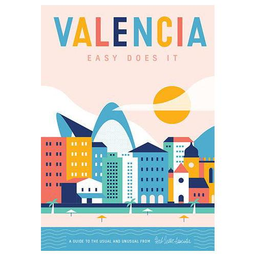 ** Travel Guide Map - Valencia