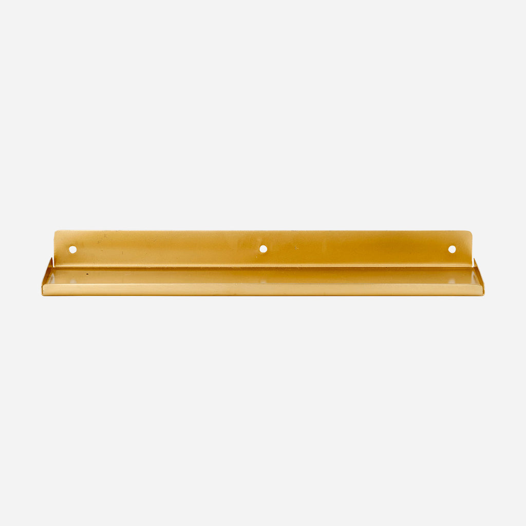 Ledge Shelf - Brass Finish