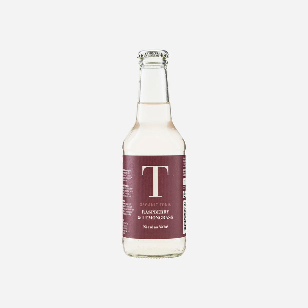 Raspberry and Lemongrass Organic Tonic Water