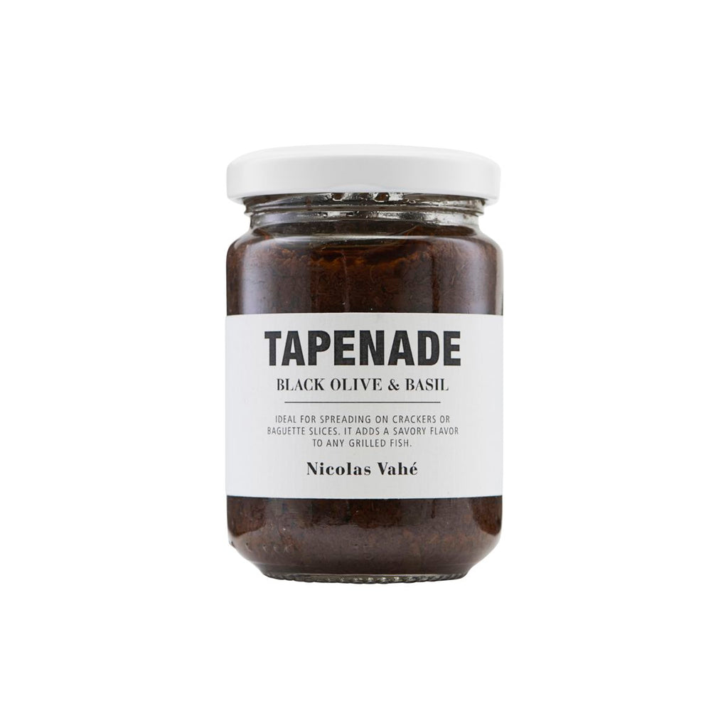 Tepenade with Black Olive and Basil