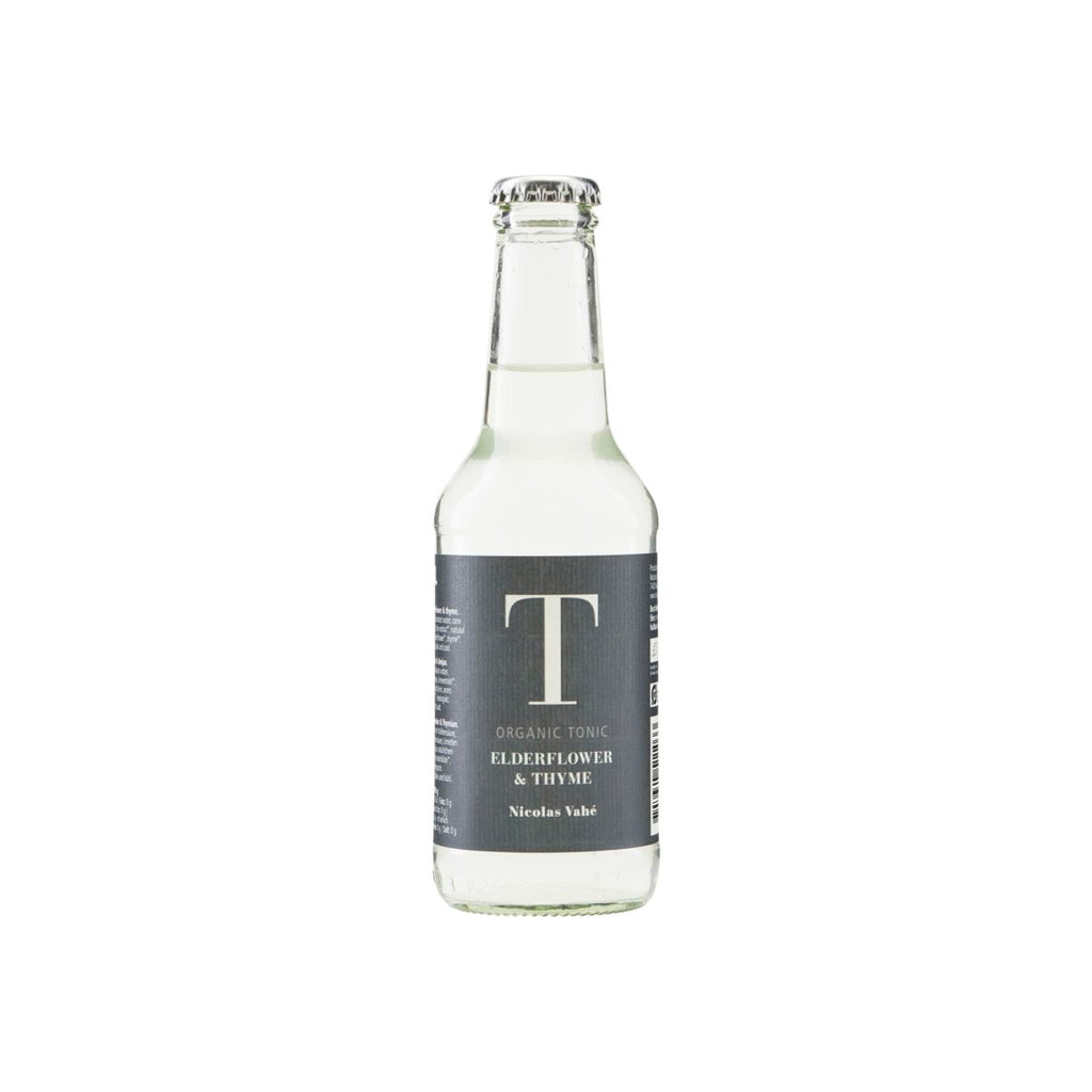 Elderflower & Thyme Organic Tonic Water