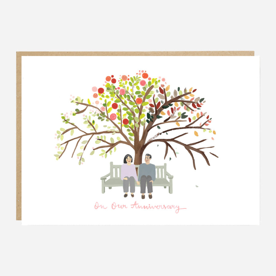 ** Four Seasons Anniversary Card