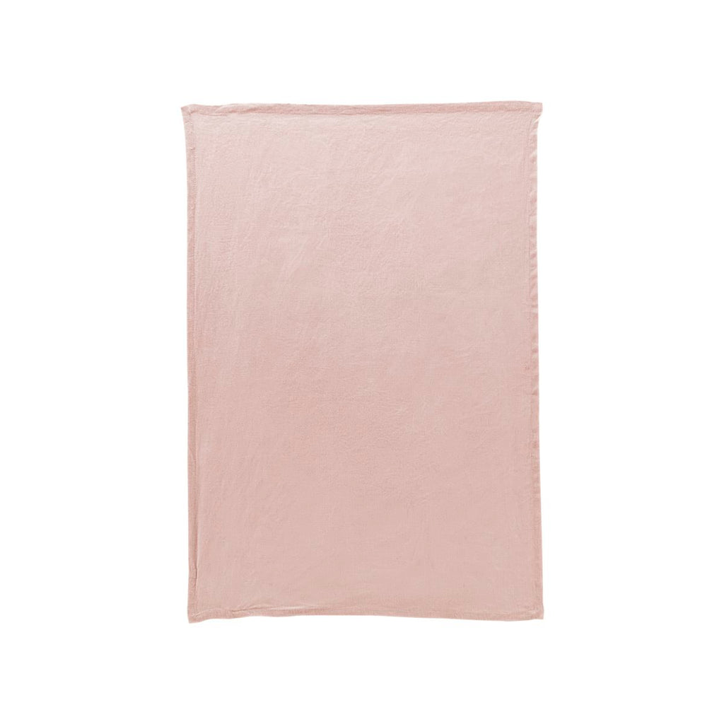 Washed Linen Tea Towel - Nude