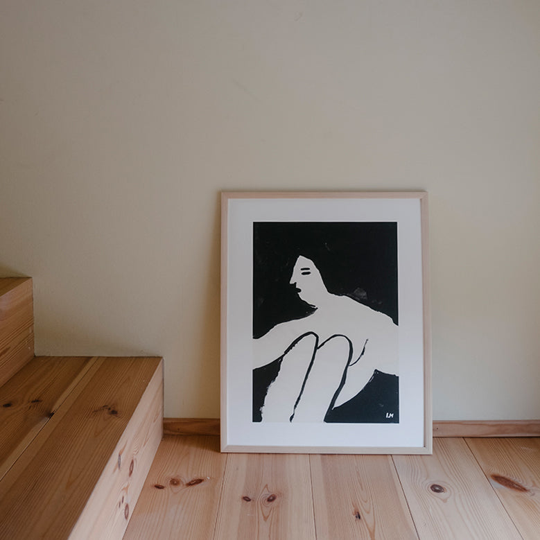 'Woman' Print by Isis Maakestad 40 x 50cm