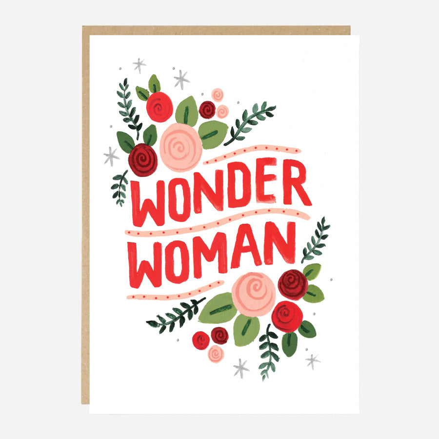 Wonder Woman Congratulations or  Encouragement Card