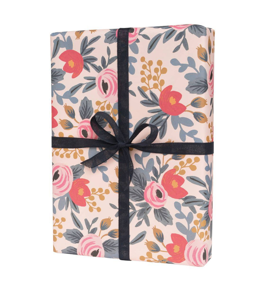 Blushing Rosa - Three Wrapping Paper Sheets from Rifle Paper Co.