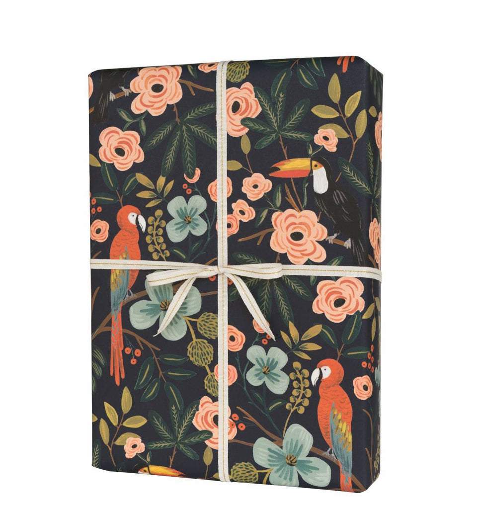Paradise Gardens - Three Wrapping Paper Sheets from Rifle Paper Co.