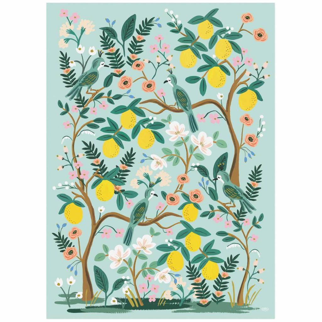 Shanghai Garden - Three Wrapping Paper Sheets from Rifle Paper Co.